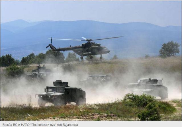 НАРОД НЕЋЕ ЗАБОРАВИТИ ЗЛОЧИНАЧКО УБИЈАЊЕ 1999: Српска војска вежба са НАТО идуће године
