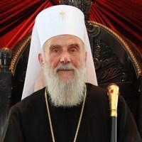 Беседа Патријарха екуменисте и пацифисте на крају МИСЕ (!) у римокатоличкој цркви у Сарајеву 9.9.2012.