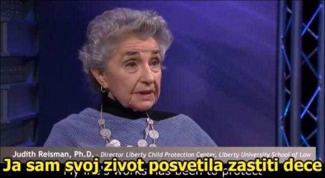 Др ЏУДИТ РАЈСМАН Образовним пакетима које намећу Србији деца се моделују за педофилске мреже 2