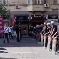 У Београду протест против параде срама (Видео уживо)