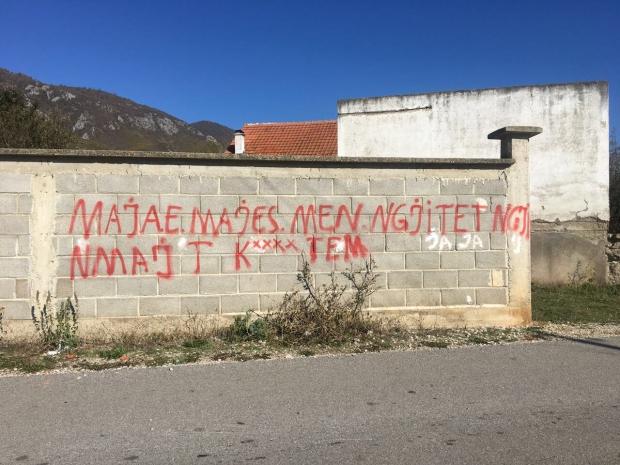 #Povratnici, #Ljubožda, #Grafit, #Dalibor, #Jevtić, #Kosovo, #Metohija, #Srbija, #Šiptari, #Albanci,