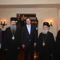 Предраг Поповић - О сарадњи (коалицији?) СПЦ и СНС