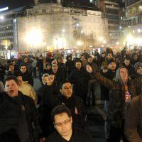 """ПРОТЕСТ """"НЕМА ПРЕДАЈЕ!"""": Београде пробуди се, иначе ће ти на врата закуцати шиптарска мафија (фото, видео)"""