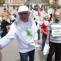 """""""Монсанто гори од нацизма"""": Протест против ГМО у Београду (фото)"""