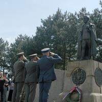 Војска Србије први пут на Равној Гори: Историјско салутирање