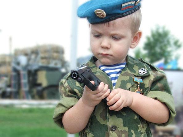 Олег Николајевич Верешагин: Васпитавање војника