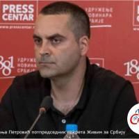 Немања Петровић: ВУЧИЋ У СТРАХУ ОД СОПСТВЕНОГ НАРОДА