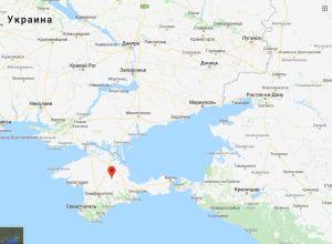 mapa krim