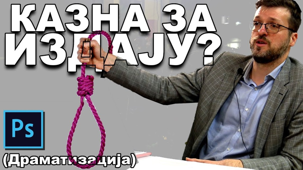 Срђан Ного у емисији РасПравда: Ако им смета вешање, нека кажу која је казна за издају! (видео)