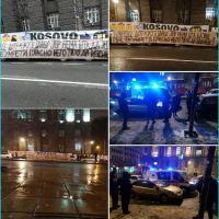 Двадесетак људи штрајкује глађу испред Владе Србије већ седам дана