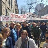 РЕШЕЊЕ ИЛИ РАЗРЕШЕЊЕ: Протест без прекида грађана задужених у швајцарским францима