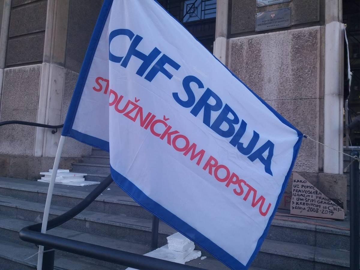 ЦХФ Србија испред ВКС: РЕШЕЊЕ ИЛИ РАЗРЕШЕЊЕ, протест 4.дан - БЕЗ ПРЕКИДА и БЕЗ РАЗИЛАЖЕЊА
