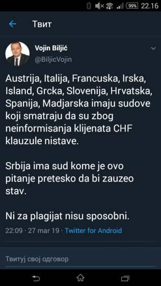 TVIT CHF KREDITI